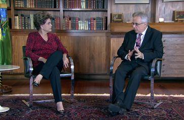 Entrevista com Dilma Rousseff na TV Brasil