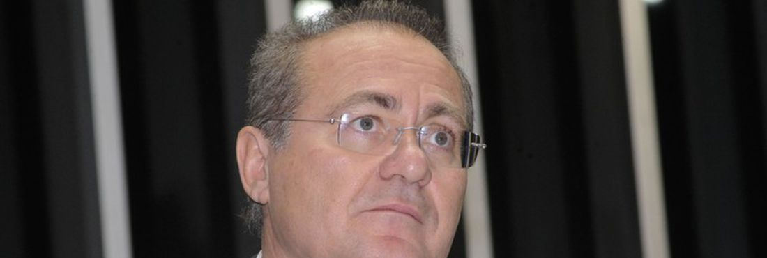 Presidente do Senado, Renan Calheiros (PMDB-AL) conduz sessão deliberativa