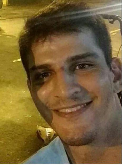 Vinicius Batista Serra, acusado de ter espancado a paisagista e empresária Elaine Perez Caparroz
