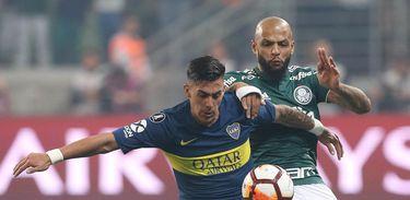 Palmeiras 2 x 2 Boca