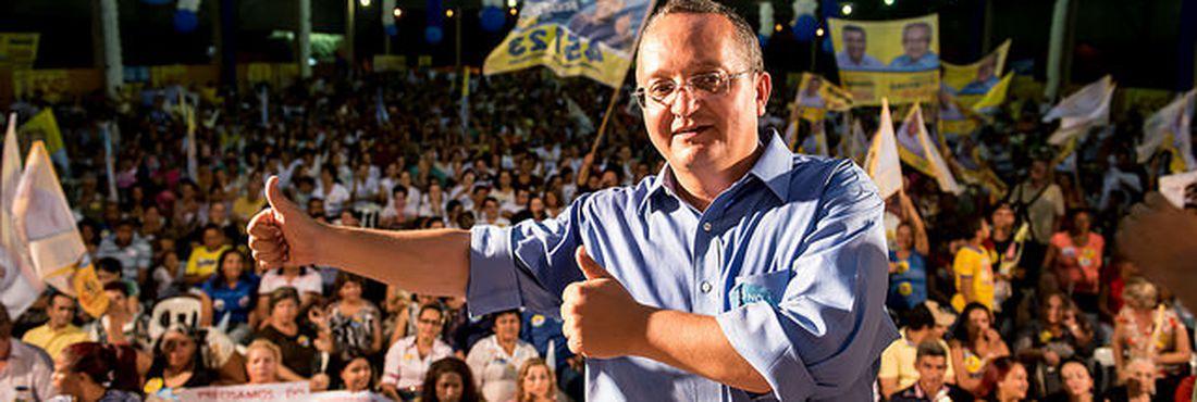Pedro Taques (PDT) é candidato ao governo pela coligação Coragem e Atitude para Mudar, formada pelo PP, DEM, PSDB, PSB, PPS, PV, PTB, PSDC, PSC, PRP, PSL, PRB e o PDT.