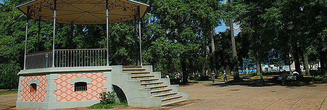 Praça da Liberdade, em Belo Horizonte
