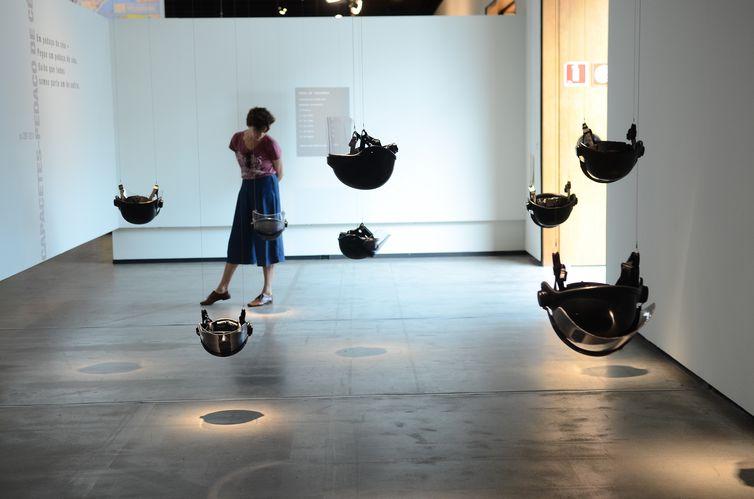 São Paulo - Exposição O céu ainda é azul, você sabe... da artista Yoko Ono, no Instituto Tomie Ohtake (Rovena Rosa/Agência Brasil)