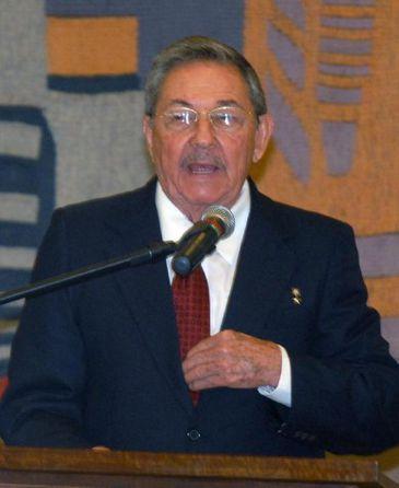 O presidente de Cuba, Raúl Castro