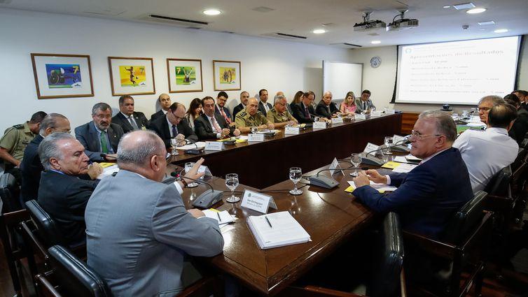 Presidente da República, Michel Temer e ministros, discutem situação de venezuelanos em Roraima
