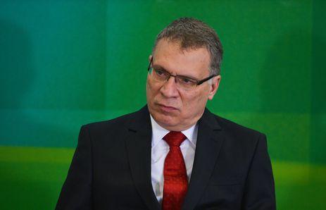 Brasília - O novo ministro da Justiça, Eugênio Aragão, na cerimônia de posse  (José Cruz/Agência Brasil)