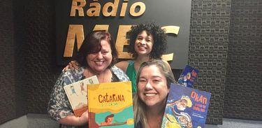 Kátia Gilaberte e Luciana Nabuco no Conversa com o Autor