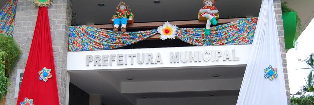 Sede da Prefeitura de Macajuba (BA)