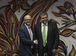 Brasília - Os ministros Vidar Helgesen, do Clima e Meio Ambiente da Noruega, e Sarney Filho, do Meio Ambiente, firmam apoio ao financiamento do agronegócio sustentável no Brasil (José Cruz/Agência Brasil)