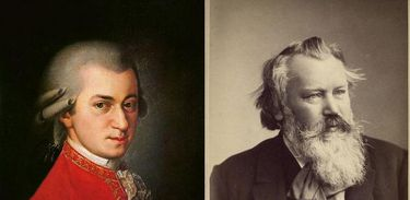 Mozar e Brahms