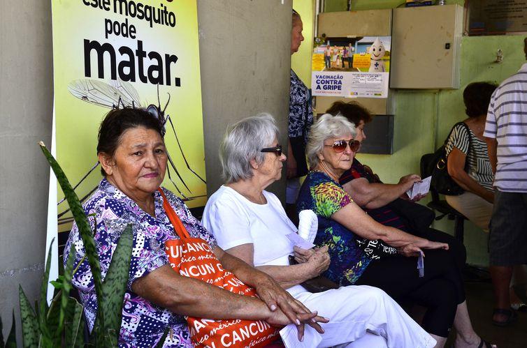 São Paulos - Primeiro dia de vacinação de idosos, gestantes e crianças de 3 meses a 5 anos, na Unidade Básica de Saúde Alto de Pinheiros, zona oeste  (Rovena Rosa/Agência Brasil)