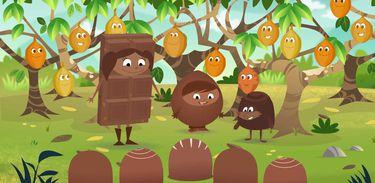 A Maravilhosa Floresta de Chocolate