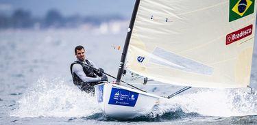 O velejador Jorge Zarif foi pego no exame antidoping e é dúvida para Tóquio 2020