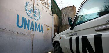 """A Missão de Assistência da ONU no Afeganistão (Unama), condenou o """"ataque covarde"""" do EI ao hospital militar em Cabul"""