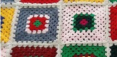 Quadradinho de amor, crochê, crochet
