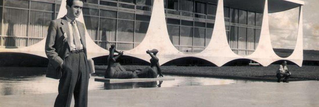 Vladimir Herzog na inauguração de Brasília