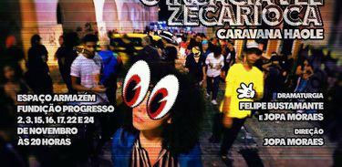 """Peça """"O insaciável Zé Carioca"""" faz crônica do Rio contemporâneo"""