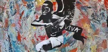 """Capa do álbum """"Viva"""" do Barão Vermelho"""