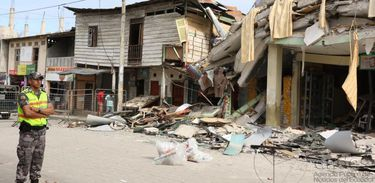 Terremoto no Equador