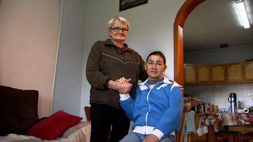 """Lucy Robaldo, agricultora aposentada, e mãe de Vera Lúcia: """"Eu não posso deixar minha filha sozinha."""""""