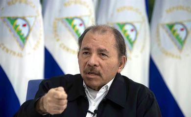 Presidente da Nicarágua Daniel Ortega concede entrevista à Agência EFE