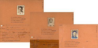 Detalhe dos contratos do Trio de Ouro com a Rádio Nacional