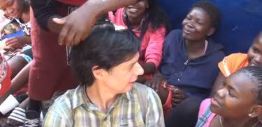 Luís Nachbin visita o reino da Suazilândia