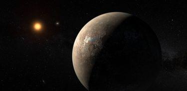 """O exoplaneta """"Proxima B"""" foi descoberto pelo Observatório Europeu do Sul (ESO, na sigla em inglês)"""