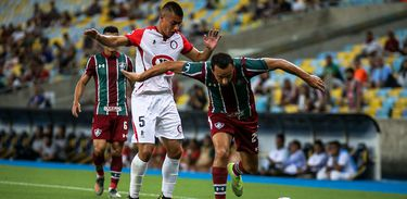 Fluminense 1 x 1 Unión La Calera
