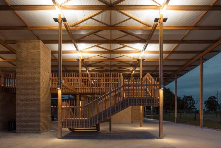 Projeto brasileiro vence categoria Arquitetura Educacional ArchDaily Building