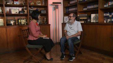 Roseann Kennedy entrevista o cineasta Cacá Diegues