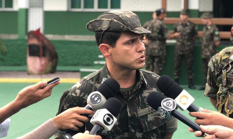 Tenente-coronel Adelmo de Sousa Carvalho Filho vai ser chefe da missão no Congo