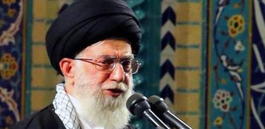 líder supremo do Irã, Ali Khamenei (Agência Ansa/Direitos Reservados)