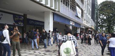 Prédios do Setor comercial sul em Brasília foram evacuados