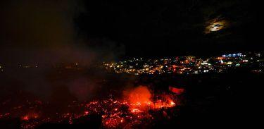 Incêndio em Manaus em dezembro de 2018