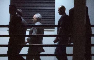 O ex-presidente Michel Temer chega na Superintendência Regional da Polícia Federal no Rio de Janeiro.