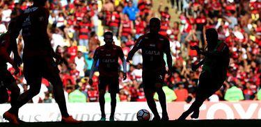 Treino aberto do Flamengo no Maracanã