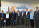Rio de Janeiro - Ministro Celso Pansera (3º à direita) visita laboratório que faz simulações para pesquisas oceânicas que colaboram com a exploração de petróleo no Brasil   (Cristina Indio do Brasil/Agência Brasil)