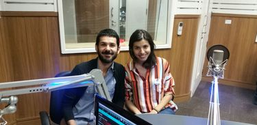 Victor Zaiden e Samara Correia