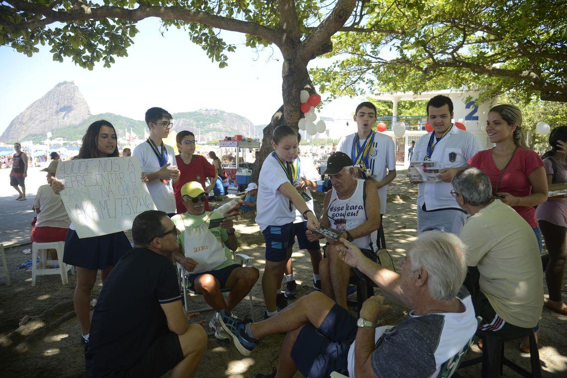 Alunos do Colégio Pedro II - Campus Centro, que foram selecionados para integrar a delegaçao do Brasil para o WMTV 2019 - Word Mathematics Team Championship.