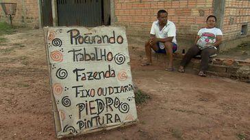Venezuelanos procuram emprego nas ruas de Boa Vista (RR)