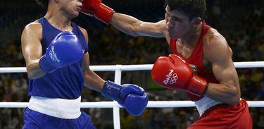 Julião Neto perde para norte-americano e está fora da disputa por medalha no boxe