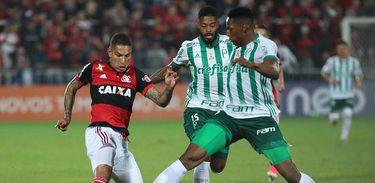 Flamengo 2 X 2 Palmeiras