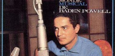 Capa do primeiro disco de Baden lançado na França