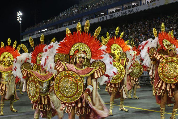 São Paulo - Desfile da Acadêmicos do Tucuruvi durante o primeiro dia do carnaval paulista (Divulgação/LigaSP)
