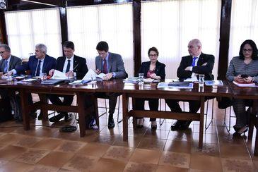 Primeira reunião ministerial do governo do presidente eleito, Jair Bolsonaro