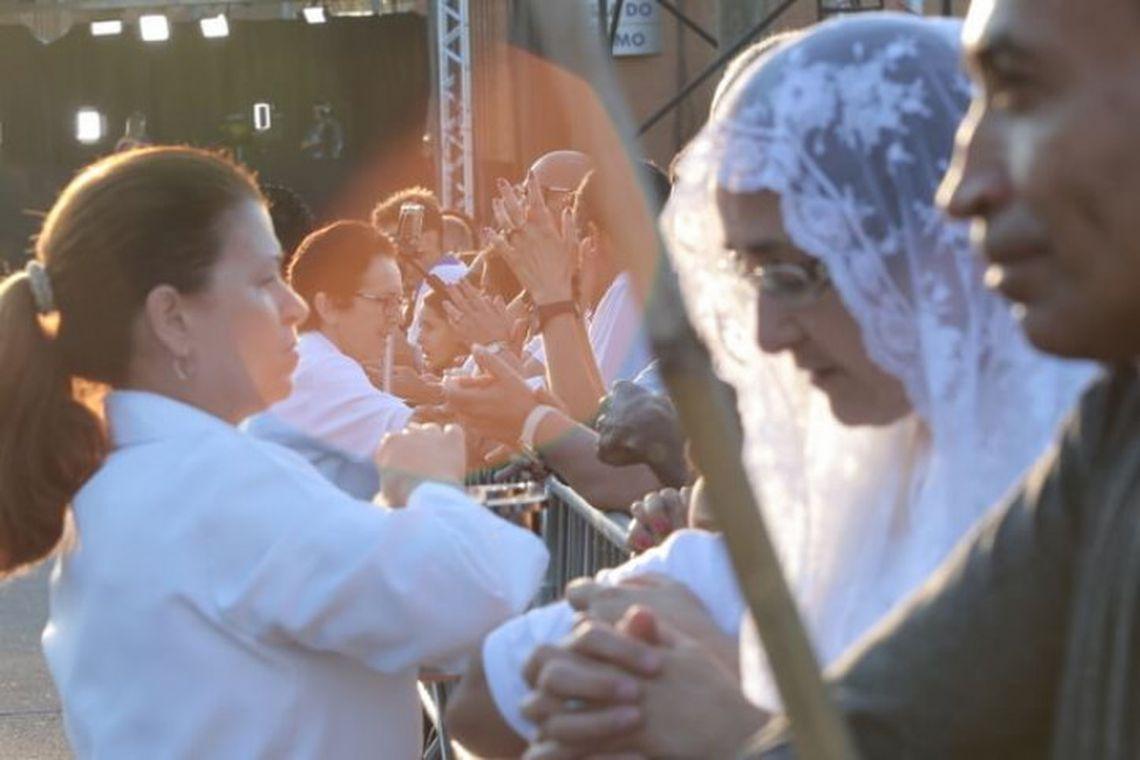 Aparecida (SP) - Devotos de Nossa Senhora Aparecida comparecem ao Santuário Nacional no dia da Padroeira do Brasil (Felipe Guimarães/Santuário Nacional)