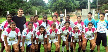 Futebol feminino - Divulgação Prefeitura de Várzea Paulista
