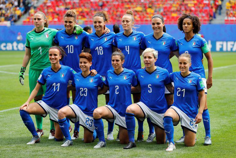 Seleção da Itália na Copa do Mundo de Futebol Feminino - França 2019.