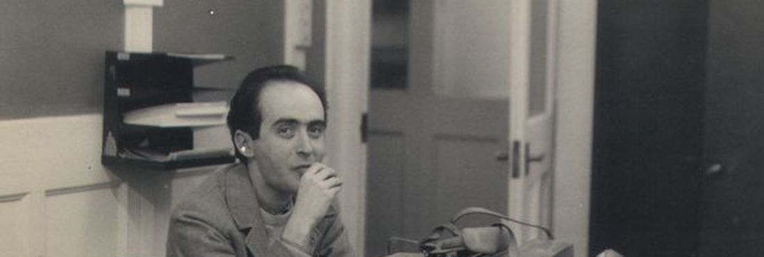 Vladimir Herzog, na BBC em Londres em 1966 (Acervo / Instituto Vladimir Herzog)